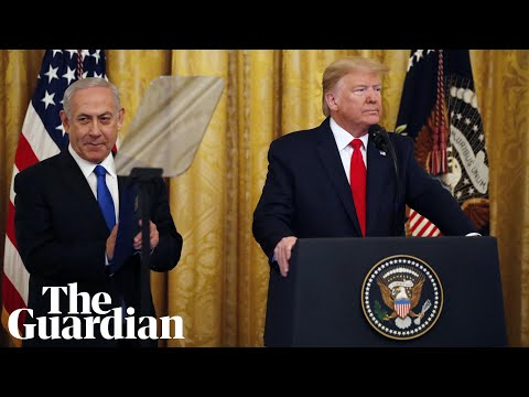 Trump and Netanyahu unveil Middle East 'peace plan' –  watch live