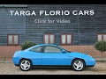 Fiat Turbo Coupe 20V 2.0 5 Speed Manual in Sprint Blue