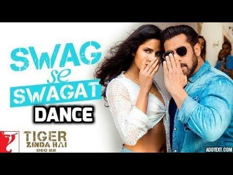 Swag Se Swagat Dance   Tiger Zinda Hai   Salman Khan   Katrina Kaif   Vishal Dadlani   Neha Bhasin