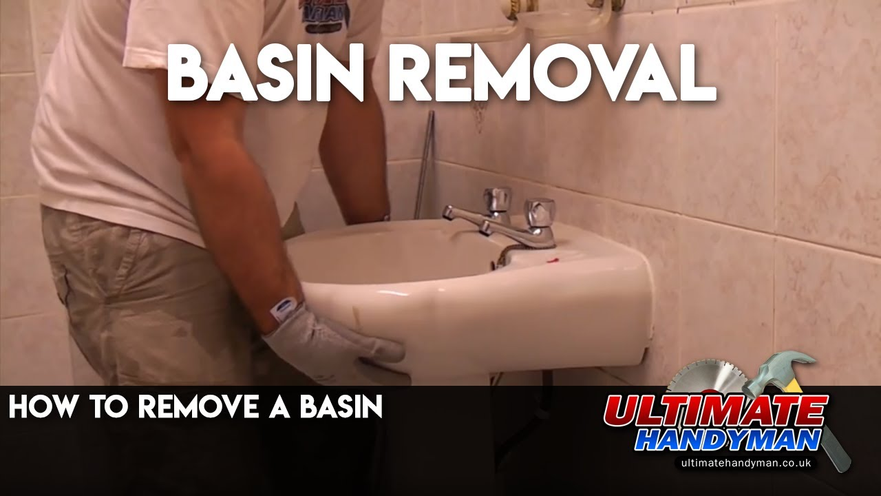 How To Remove A Basin Youtube
