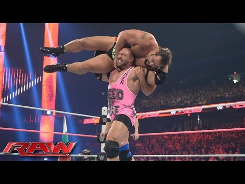 Ryback vs. Rusev: Raw, October 12, 2015