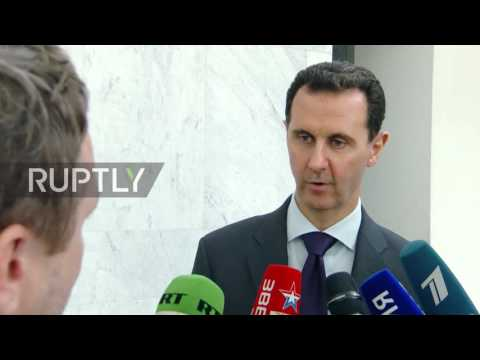 Syria: Assad claims US Syria policy exists on multiple standards