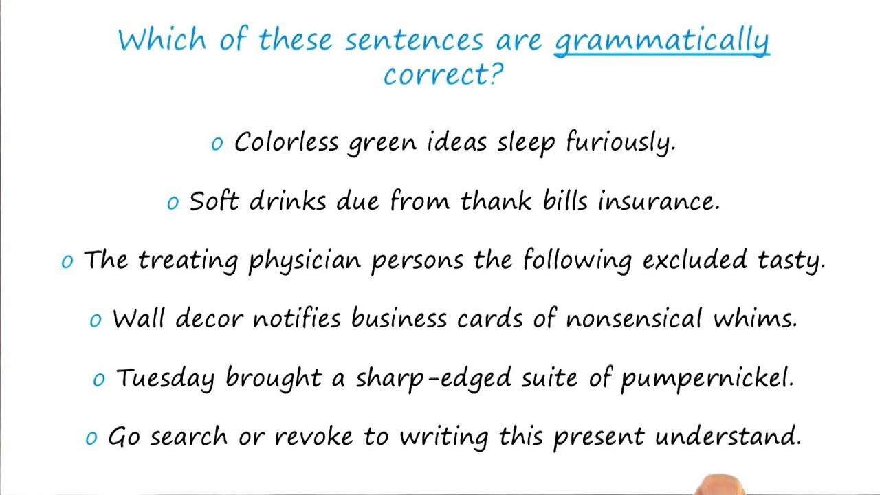 Exercise: Gibberish Sentences Quiz - Georgia Tech - KBAI: Part 4 ...