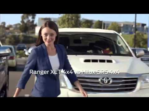 Ford Girl in Blue  Ford Ranger 'You Can't Buy Better'