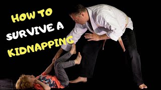 HOW TO SURVIVE A KIDNAPPING -adult grabbing you by the wrist