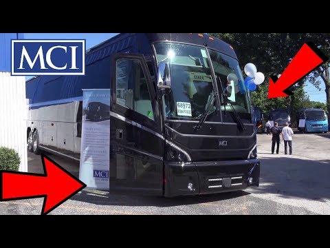 Brand New 2018 MCI J4500 Luxury Coach Inside Outside Engine