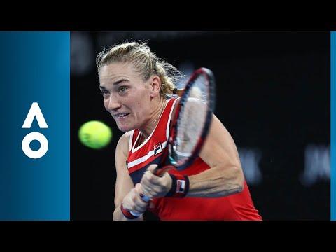 Timea Babos v CoCo Vandeweghe match highlights (1R) | Australian Open 2018