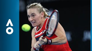 Timea Babos v CoCo Vandeweghe match highlights (1R) | Australian Open 2018