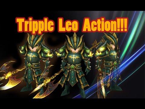 Summoners War - Triple LEO Action!!!