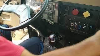 Русская школа CDL на Русском и Английском. PTI Часть 4. Air brake test. Inside the cabin