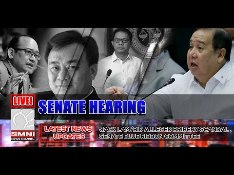 LIVE! Jack Lam/BID Alleged Bribery Scandal - Senate Blue Ribbon Committee