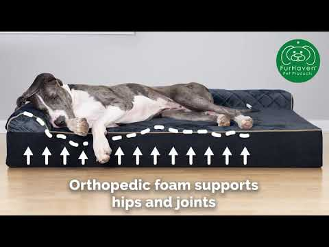 comfortable-ultimate-dog-bed-|-orthopedic-memory-foam-|-multiple-sizes-colors
