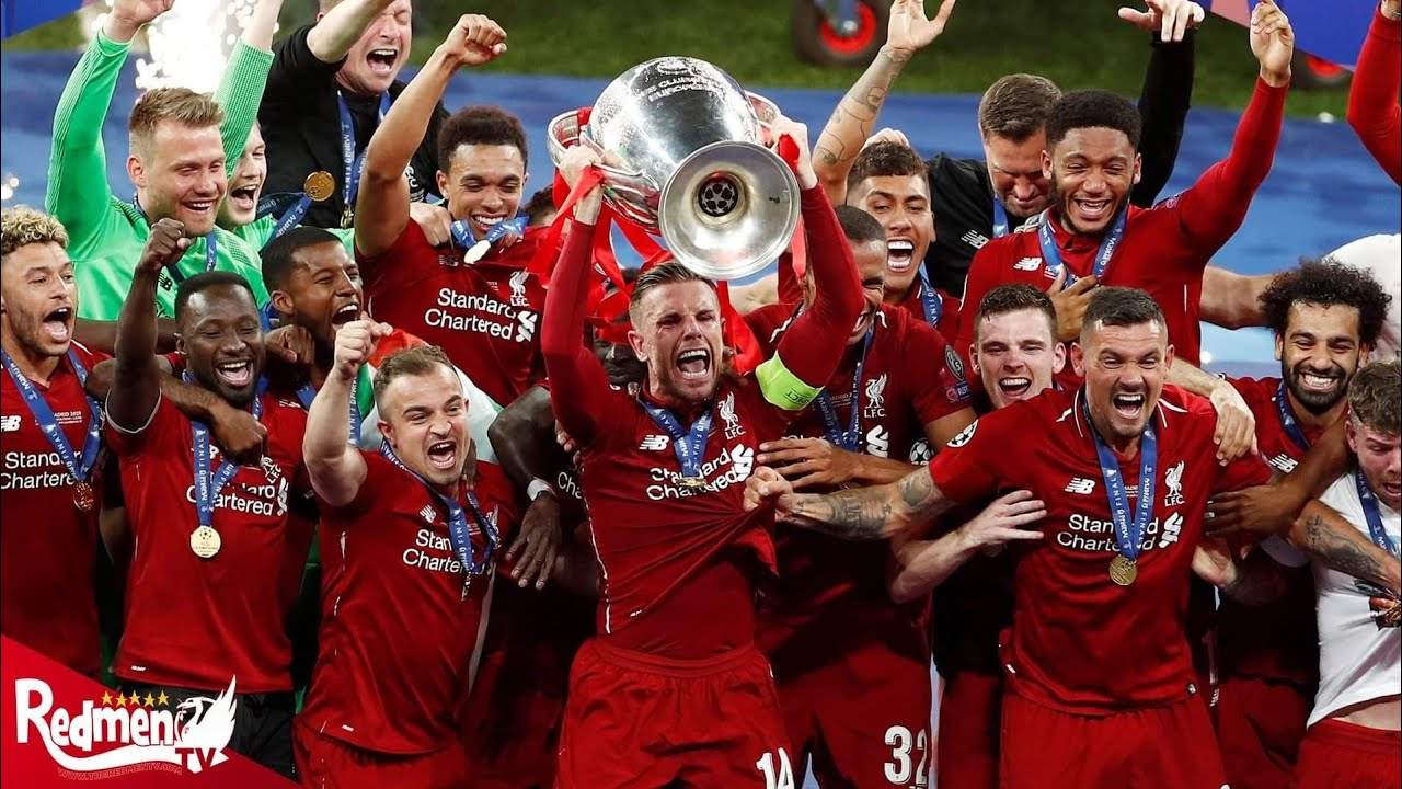 Liverpool Lift The Champions League Trophy
