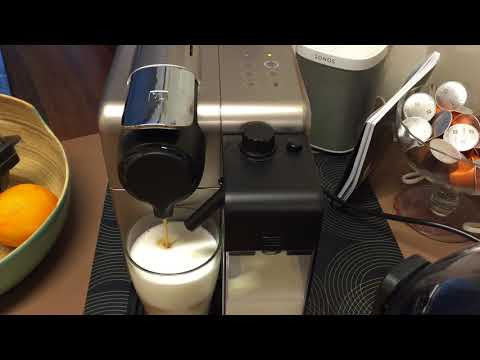 How to make cappuccino with nespresso lattissima