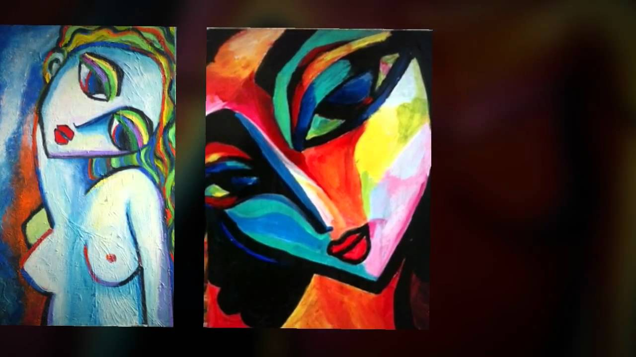 Beautiful Acrylic Paintings On Canvas