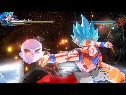 UNIVERSE SURVIVAL ARC PACK! Jiren The Grey VS SSB Goku GAMEPLAY! Dragon Ball Xenoverse 2 MODS