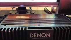 DENON Class A, Old School (1987) Car Amplifier.