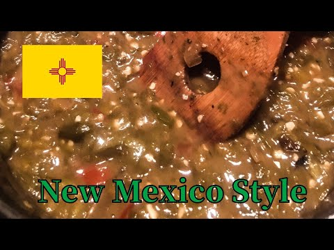 New Mexico Green Chile Sauce