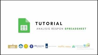 Spreadsheet - Tutorial Analisis Respon