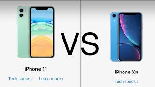 iPhone 11 vs XR ( comparison )