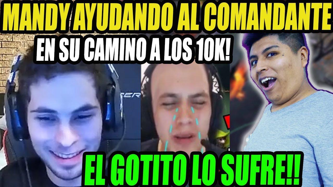 MANDY JUNTO A VANN ACCEL Y YADOMI VS EL GOTITO Y EL MITRON CCNC!!   DOTA 2