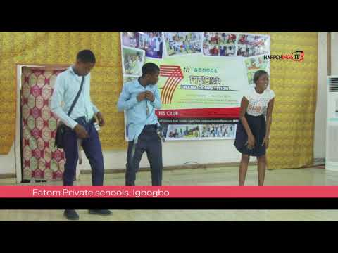 FTS DRAMA COMPETITION : ...showcasing inbuilt talents  among the youths
