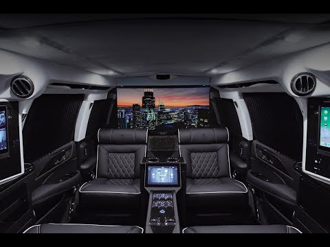 2019 ARMORED CADILLAC ESCALADE MOBILE OFFICE l VERSAILLES EDITION LEXANI MOTORCARS