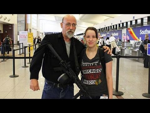 Man Exercises Open-Carry Rights By Carrying Loaded Assault Rifle In Airport