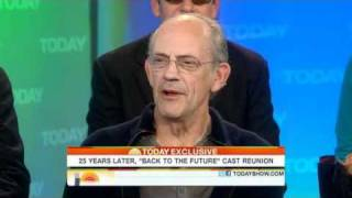 Today Show 25th Back To The Future Interview