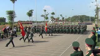 Quá trình luyện tập A70 (2/9/2015). Trung tâm GDQP-AN ĐHQG Hà Nội