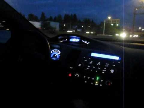 "2007 Honda Civic LX Highway Fun [Fujita CAI & 2.5"" Cat Back Exhaust] - YouTube"