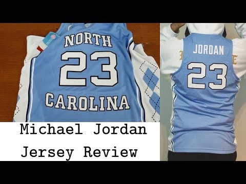quality design e9f6a 51969 Nike x UNC Michael Jordan Jersey Review How do they differ ...