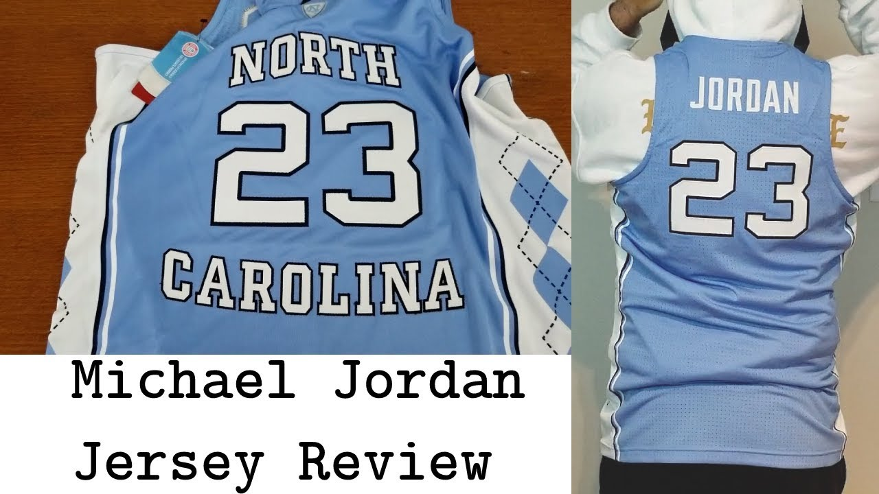 best website 7e7fd f81d8 Nike x UNC Michael Jordan Jersey Review How do they differ from NBA jersey??