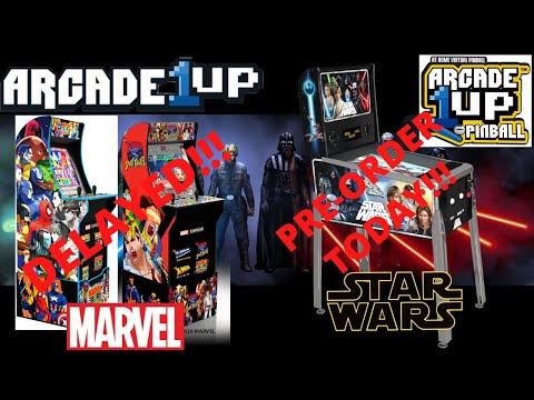 Arcade1up: Marvel vs Capcom Delayed Again and Star Wars Pinball Pre-order is live! from PsykoGamer