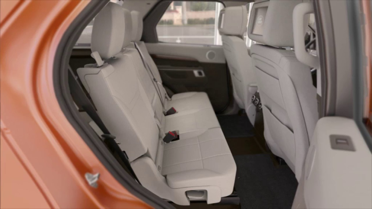 All-New Discovery | Manual Third Row Seat Operation | Land Rover USA