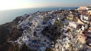 《NPro+》Santorini from the sky in 4K-DJI Phantom 3