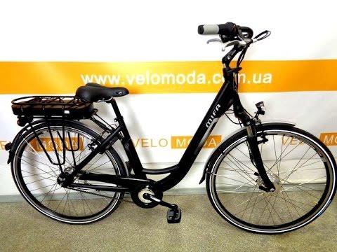 Электр́ический велосип́ед (электровелосипед, пауэрбайк, e-bike, pedelec ( англ. )) представляет собой велосипед с электрическим приводом, который частично или полностью обеспечивает его движение. Его называют, также, велогибридом, хотя гибридный велосипед — это велосипед, сочетающий в своей.