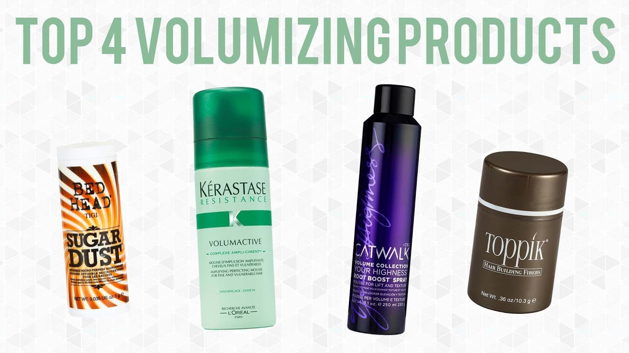 Best Styling Products For Fine Hair Volumizing Hair Products For Fine Or Thin Hair  Youtube
