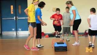 Strength and agility exercises for kids