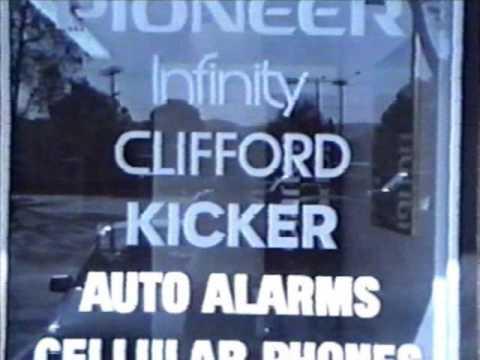 Car Stereo Stores, Dublin CA, 1991