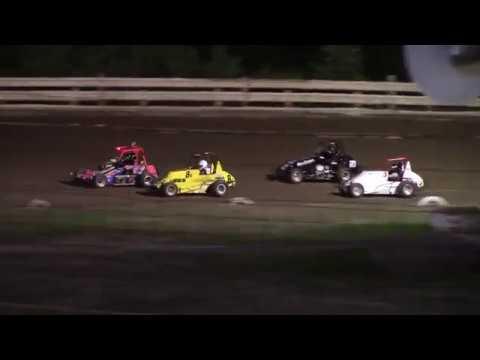 Hummingbird Speedway (6-8-19): Young Guns Jr Sprint Feature