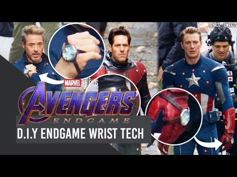D.I.Y Avengers Endgame Wrist Tech - Endgame Celebration Episode 5