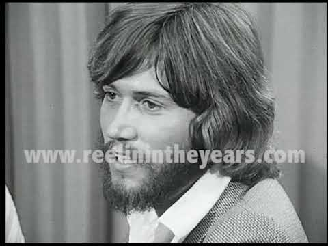 Barry Gibb (Bee Gees) - Interview 1970 [Reelin' In The Years Archives]