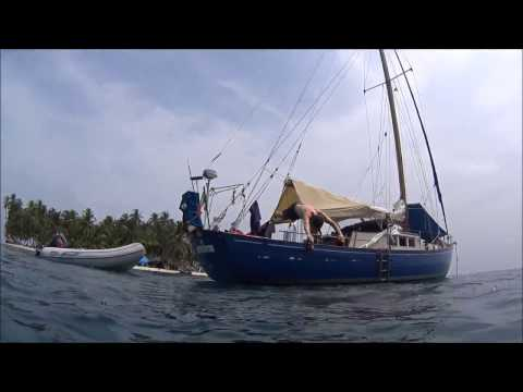 Sailing Panama to Colombia With African Queen - Cartagena Sailing