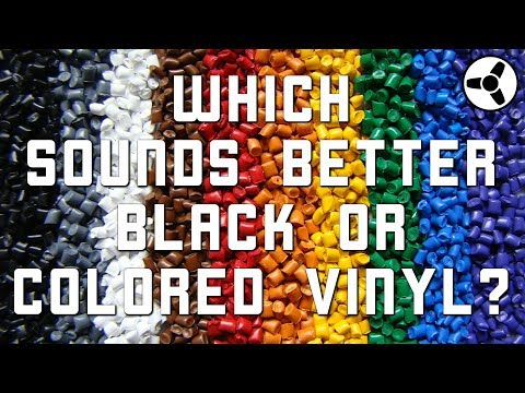 Sound & Color: which sounds better, black or colored vinyl? Mp3