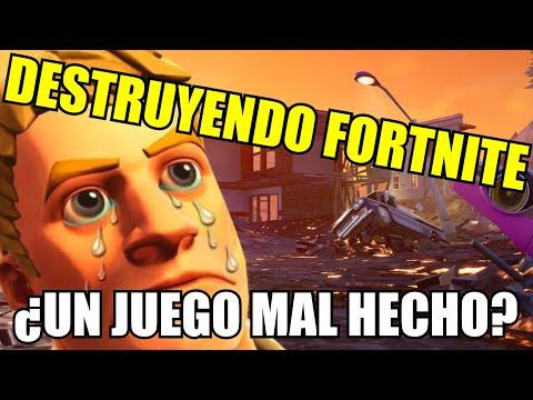 Destruyendo Fortnite 2 En Menos De 4 Minutos