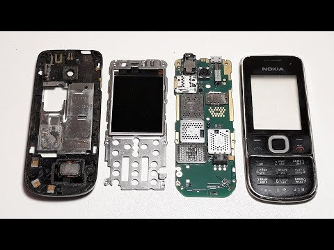 Nokia 2700c Restoration old retro phone   Restoring Broken Cell Phone