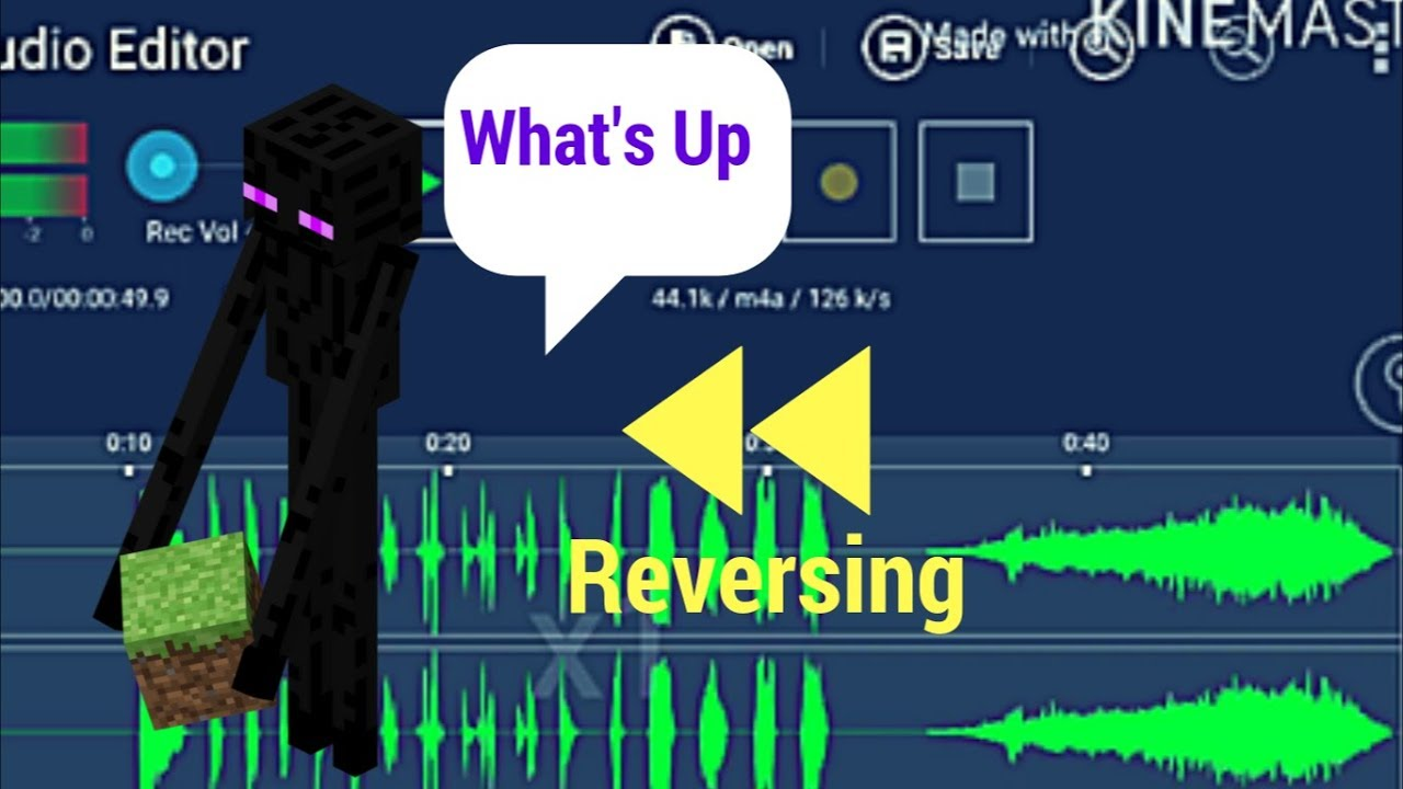 Reversing the Enderman sound (Language Revealed!?) #1