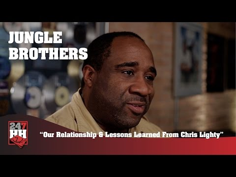 Jungle Brothers - Our Relationship & Lessons Learned From Chris Lighty (247HH Exclusive)