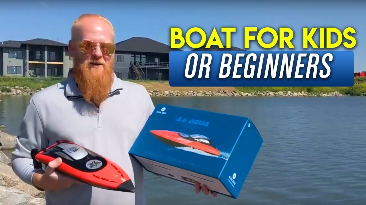 10 Remote Controlled Boats for Kids [2019] Top Toy RC Boat Reviews